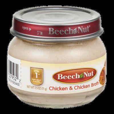 Beech Nut Stage 1 Chicken & Chicken Broth