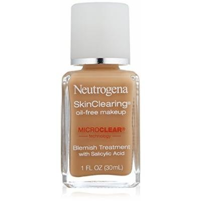 Neutrogena Skin Clearing Liquid Makeup, Honey Beige 110, 1 Fluid Ounce