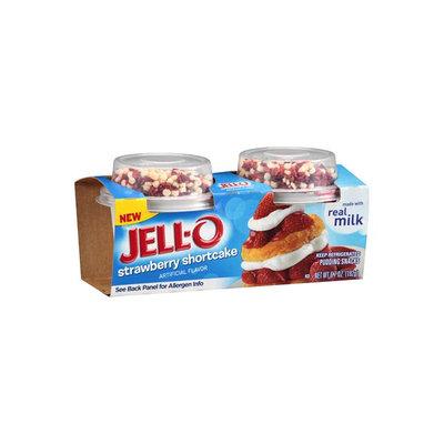 JELL-O Strawberry Shortcake Pudding Snacks