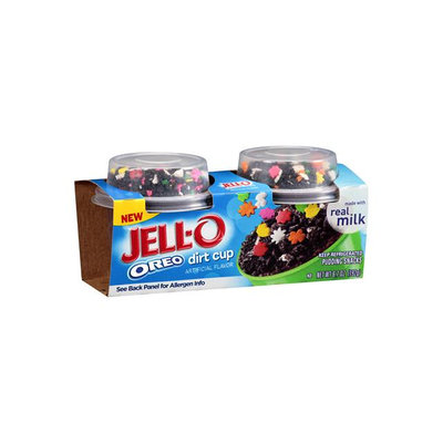 JELL-O Pudding Snacks Oreo Dirt Cup