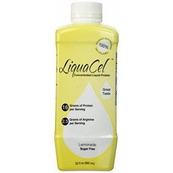 LiquaCel Concentrated Liquid Protein, Sugar-Free Lemonade, 32oz Bottle
