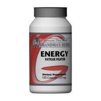 Energy - All Natural Siberian Ginseng - 100 Capsules