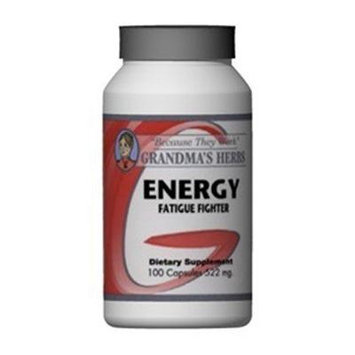 Energy - All Natural Siberian Ginseng - 100 Capsules