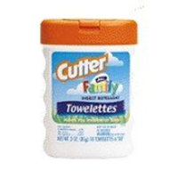Cutters Cutters All Family Towelettes 7% Deet 18pk