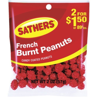 Sathers Candy Sathers 2 Oz Burnt Peanuts (10156)