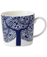 Royal Doulton Dinnerware, Fable Accent Mug Blue Tree