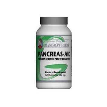 Pancreas Aid - All Natural Herbal Formula that Supports Healthy Panceas Function - 100 Capsules