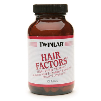 Twinlab Hair Factors Dietary Supplement Tablets