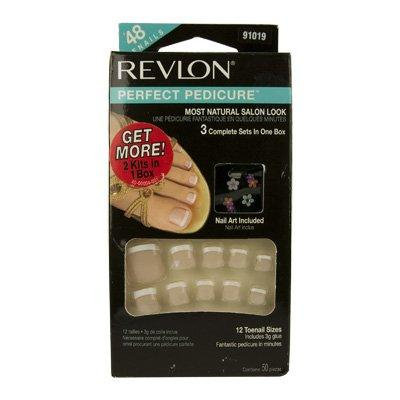 Revlon Perfect Pedicure Glue On False Toenails - 91019
