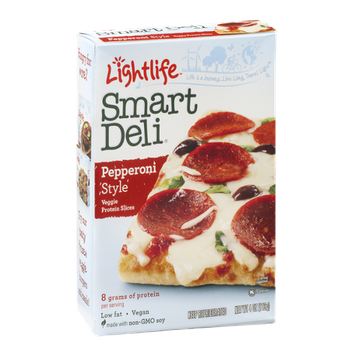 Lightlife Smart Deli Pepperoni Style