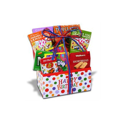 Stringer's Gift Baskets Happy Birthday Candy Gift Box
