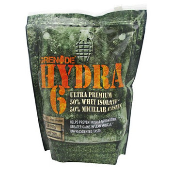 Grenade Hydra 6, 50% Whey Isolate & 50% Casein Protein Blend, Cookie Chaos, 2lb