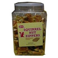 Necco Squirrel Nut Zippers Tub 240 Count