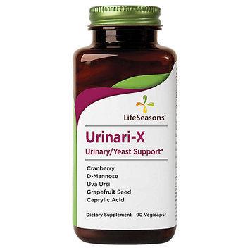 Urinari-X Urinary/Yeast Support Life Seasons 90 Caps