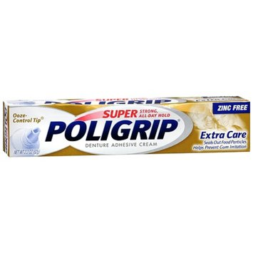 Super PoliGrip Denture Adhesive Cream
