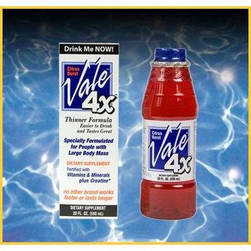 Vale Solution 4x Detox Drink Citrus Burst Flavor 20 Fl Oz