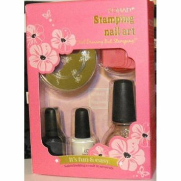 Konad Stamping Nail Art Set T Set Include M57+2 Small Specil Polish+top Caot+stamper and Scraper