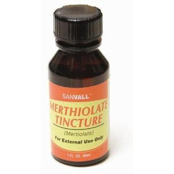 Sanvall Merthiolate Tincture 1 Oz by Sanar Naturals - Mertiolate Tintura
