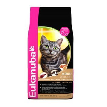 EUKANUBA CAT LAMB & RICE 16 LB BG