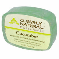 Clearly Naturals Clearly Natural Glycerine Bar Soap Cucumber 4 oz