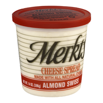 Merkts Cheese Spread Almond Swiss