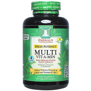 Emerald Labs High Potency Multi Vit-A-Min - 120 Vegetable Capsules