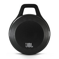 JBL Clip Portable Bluetooth Speaker with Carabiner (Black)