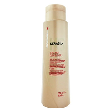 Goldwell Kerasilk Ultra Rich Care Mask for Extremely Dry Damaged & Unmanageable Hair, 16.9 fl oz