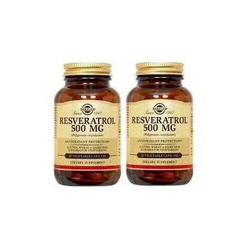 Solgar Resveratrol 500mg (2-pack)