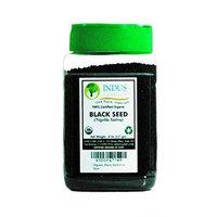 Indus Organics Indus Organic Black Seeds, Black Cumin Seeds, (Nigella Sativa) 8 Oz