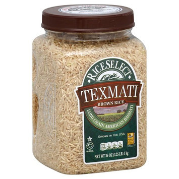 Rice Select Texmati Brown Rice, 32 oz (Pack of 4)