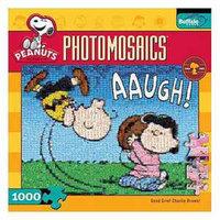 Buffalo Games Good Grief Charlie Brown Photomosaic 1000 Pcs Ages 10 and up, 1 ea