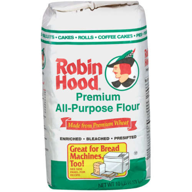 Robin Hood : Premium All Purpose Bleached Enriched Pre-Sifted Flour
