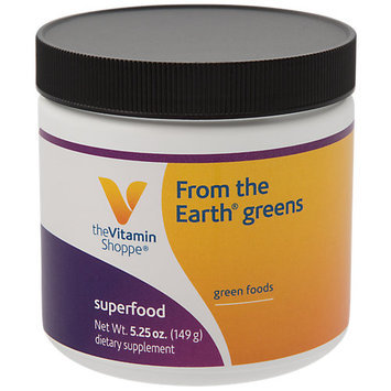 The Vitamin Shoppe From The Earth Greens