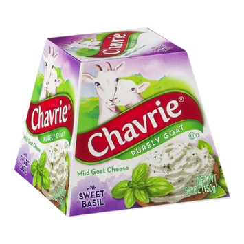 Chavrie Mild Goat Cheese Sweet Basil