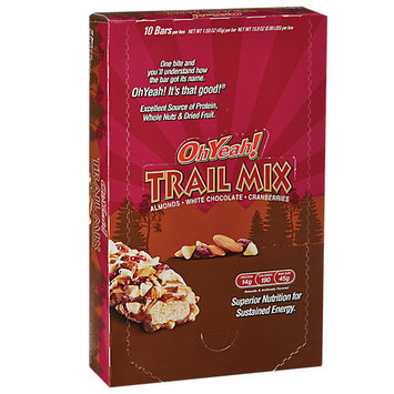 Iss5210368093 ISS Research OhYeah! Trail Mix Bar - Almond/White Chocolate/Cranberry (10/box)
