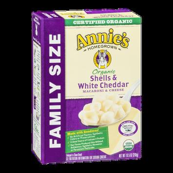 Annie's Homegrown Macaroni & Cheese Shells & White Cheddar