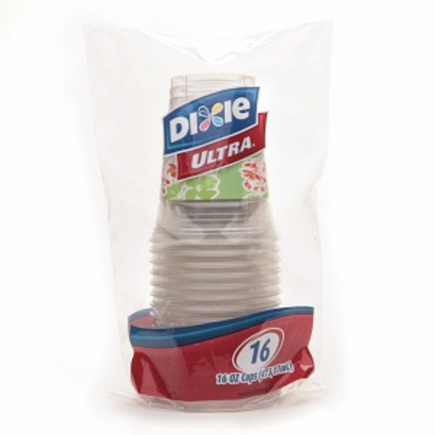 Dixie Ultra Plastic Cups (16 oz)