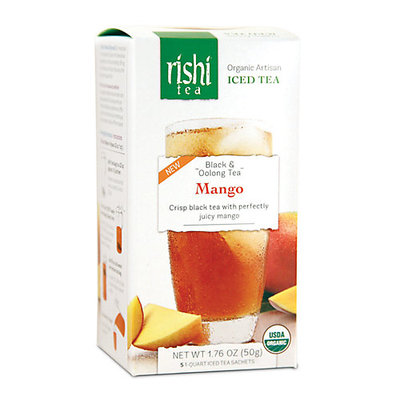 Rishi Tea Organic Mango Iced Tea