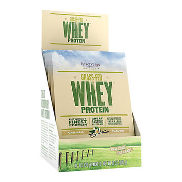 Reserveage Organics Grass-Fed Whey Protein Vanilla - 10 Packets