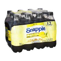 Snapple Lemon Black Tea