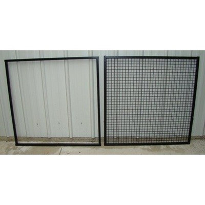 Options Plus Four Extra Welded Wire Panels (Set of 4) Size: Medium (48