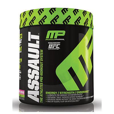 Muscle Pharm hybrid Series Assault Raspberry Lemonade 20 servings