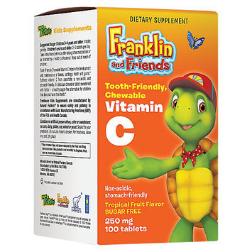 Treehouse Franklin and Friends Vitamin C Natural Factors 100 Chewable