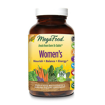MegaFood Women's Whole Food Multivitamin & Mineral 180 Tablets