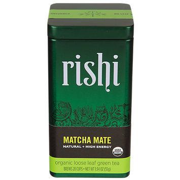 Rishi Tea Organic Loose Leaf Green Tea Matcha Super Green Mate 1.94 oz