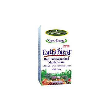 Paradise Herbs - Orac-Energy Multi-One With Iron - 30 Vegetarian Capsules
