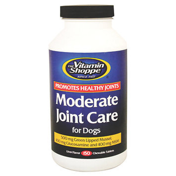 The Vitamin Shoppe Moderate Joint Care For Dogs 150 Ct.