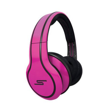 SMS Audio STREET by 50 wired over-ear headphones - Magenta