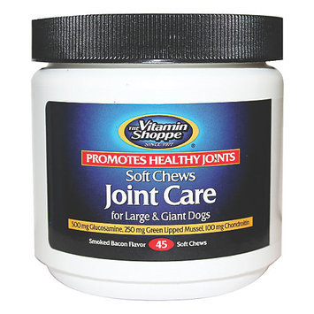 The Vitamin Shoppe Joint Care Soft Chews Large Giant Dogs 45 Ct.